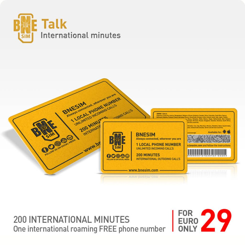BNESIM Talk: 200 international minutes